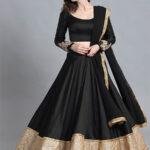 Black Umbrella Dress